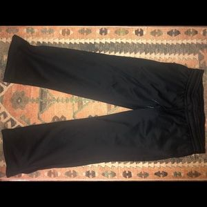 Under Armour black sweat pants